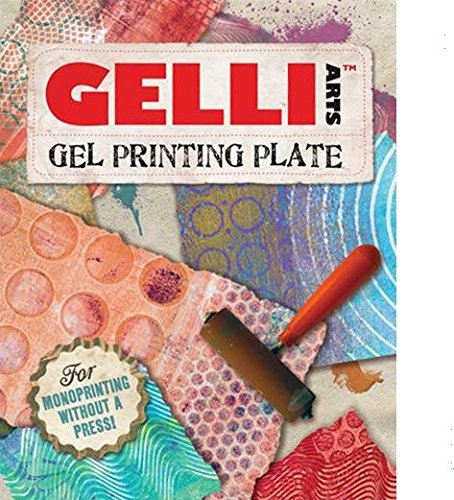GEL PRINTING PLATE by Gelli Arts  print amazing pictures to show off to your friends, 8x10 inches square by Gelli Arts