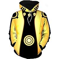 Bilicos Uzumaki Six Paths Sage Mode Rikudousennin Modo Gold - Chaqueta con capucha para hombre y mujer (contorno de…