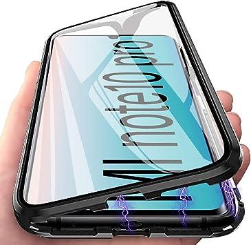 Funda para Xiaomi Mi Note 10 Pro, Adsorción Magnética Carcasa 360 ...