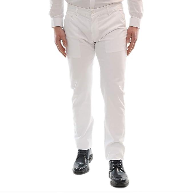 8fac15ca56 Pantaloni Uomo Estivi Elegante Cotone Leggero Primaverile Chino ...