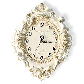 KKLOCK Wanduhr Uhr Wanduhren Lautlos für Wohnzimmer Büro ...