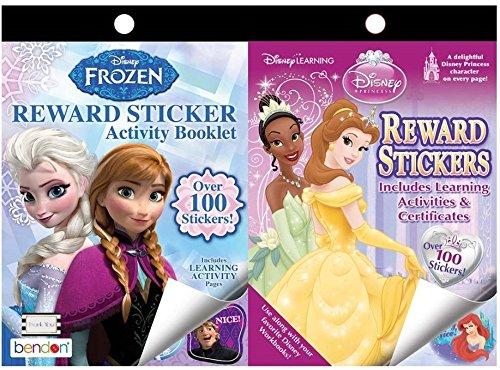 Princess Stickers Activities Achievement Certificates