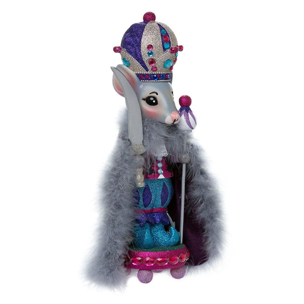 Kurt Adler HA0330 15'' Hollywood Mouse King Nutcracker