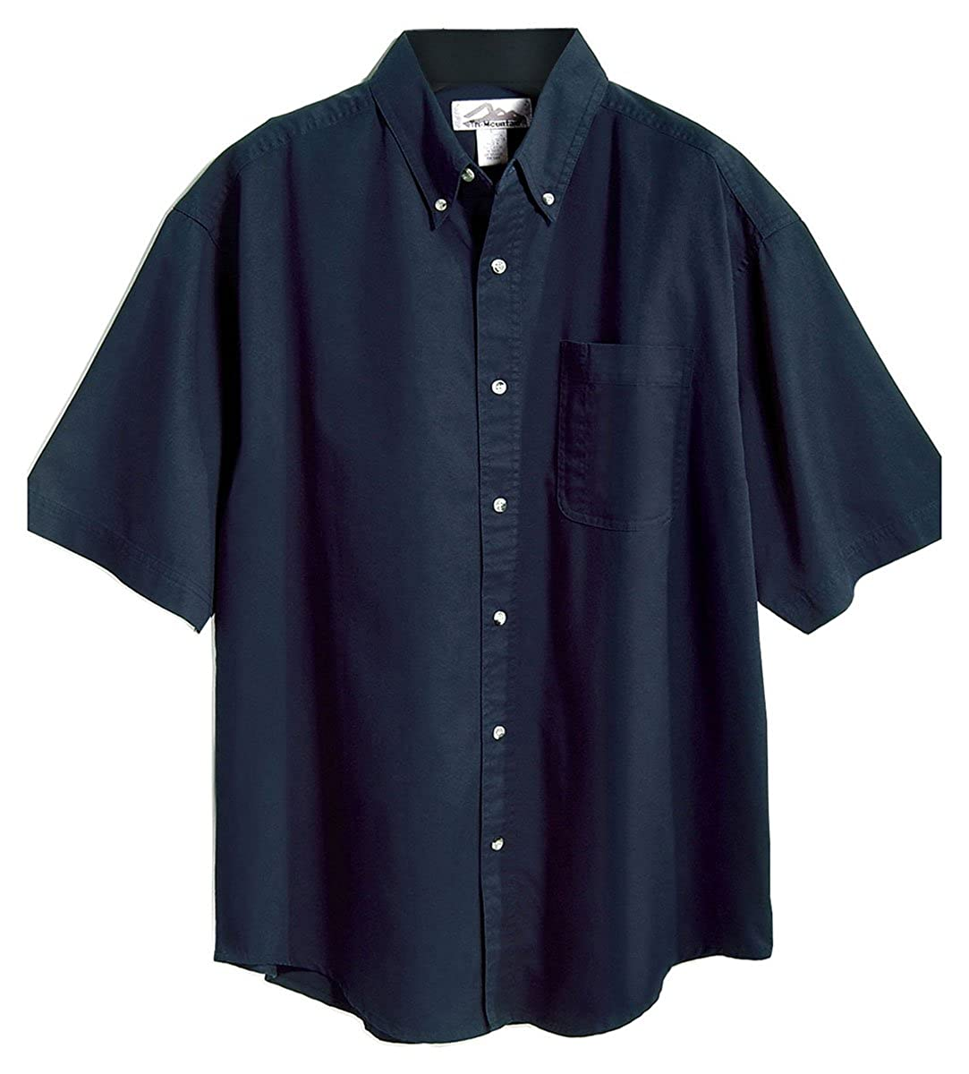 7 Colors, S-6XLT Tri-Mountain Mens 60//40 Mentor Easy Care Twill Woven Shirt