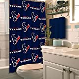 HOUSTON TEXANS NFL SHOWER CURTAIN by Northwest