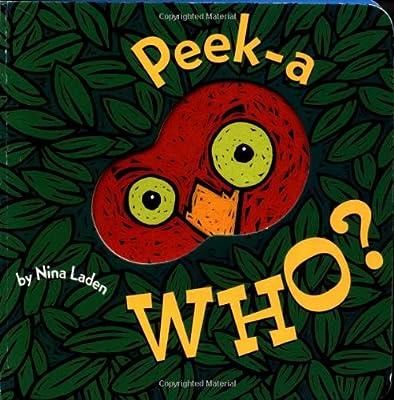 Peek-a Who by Chronicle Books