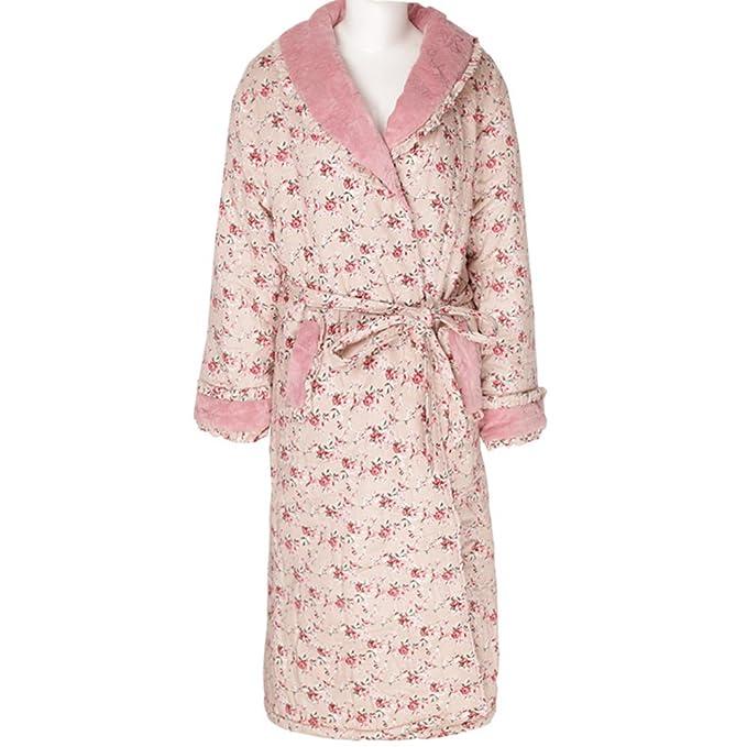 Ropa acolchada para el paquete de invierno acolchado/ el manto/ Albornoz/ Pijamas calientes: Amazon.es: Ropa y accesorios