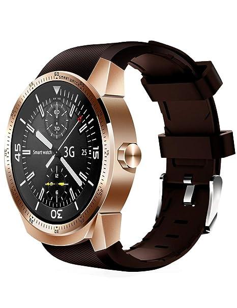 YJKLB Reloj Inteligente Reloj Smart Watch para Hombres Tarjeta ...