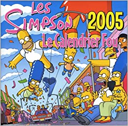 Calendrier Simpson 2005