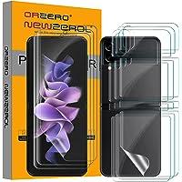NEWZEROL 3 zestawy folii kompatybilnych z Samsung Galaxy Z Flip 3 5G folia ochronna na wyświetlacz + folia ochronna na…