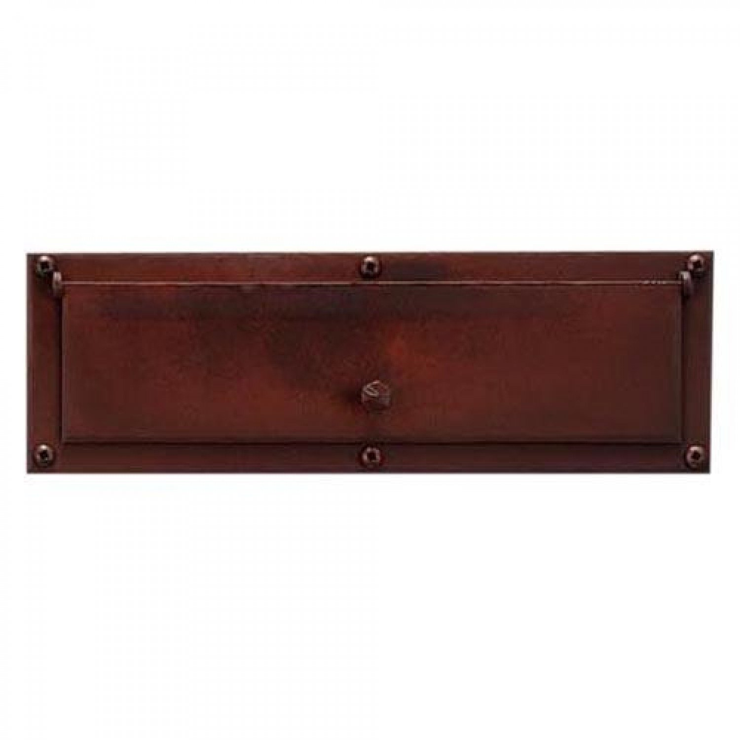 Naiture Steel Mail Slot in Bronze Finish