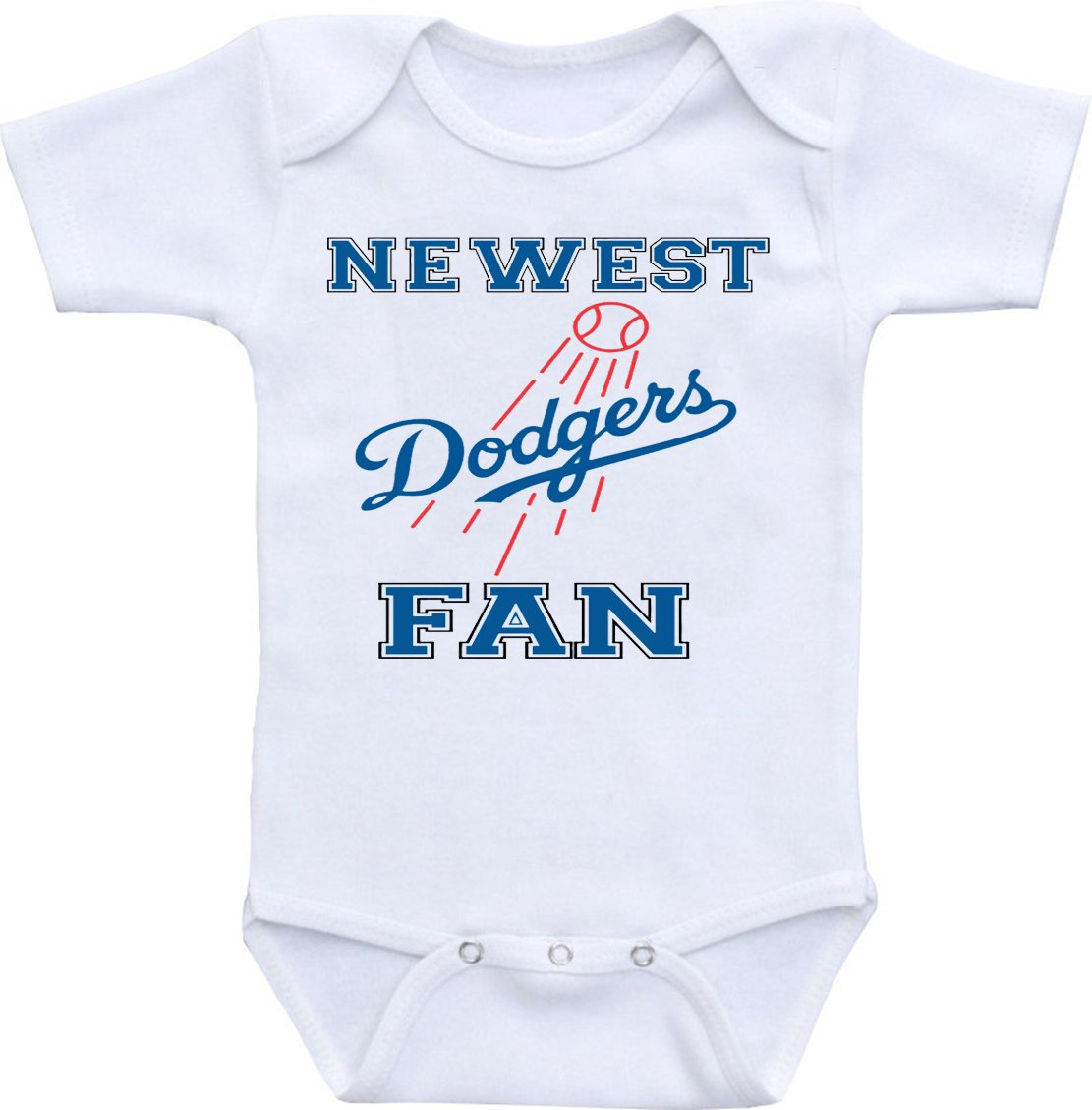 Amazon baby fanatic pacifier set mlb los angeles dodgers baby wonder labs newest dodgers fan funny baby onesie bodysuit buycottarizona Image collections