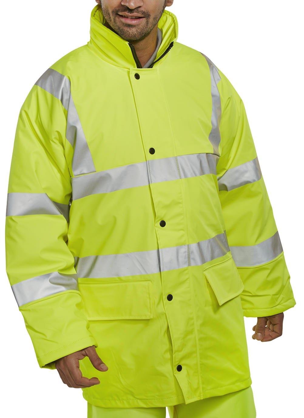 Bseen Polyurethan Lined Jacket 471Saturn Yellow XXL