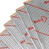 Noico 50 mil 50 sqft car Sound deadening mat, butyl automotive Sound Deadener, audio Noise Insulation and dampening