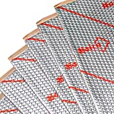 Noico 50 mil 50 sqft car Sound deadening mat, butyl automotive Sound Deadener, audio Noise Insulation and dampening