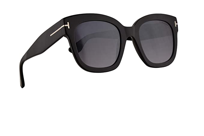 ca1a05fe77 Image Unavailable. Image not available for. Colour  Tom Ford FT0613 Beatrix-02  Sunglasses Shiny Black ...