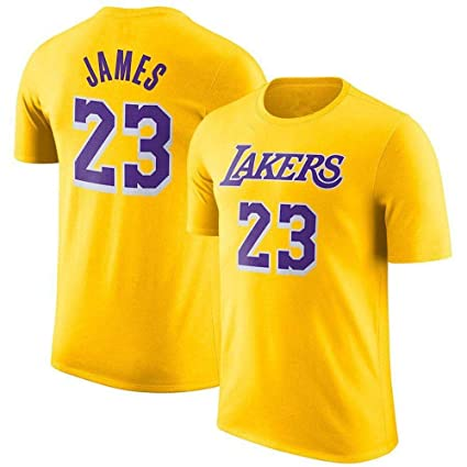 Camiseta Nba L.A Lakers James # 23 Camiseta De Manga Corta ...