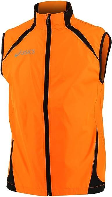 Asics Stef Mens Running Gilet - Orange