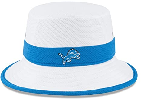 Image Unavailable. Image not available for. Color  Detroit Lions New Era NFL  2015 Training Camp Sideline Bucket Hat ... 17b3875d0