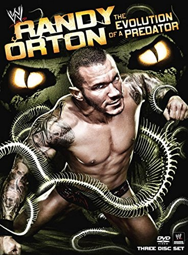 DVD : Randy Orton: The Evolution of a Predator (Full Frame, Dolby, AC-3, Digipack Packaging, 3 Disc)