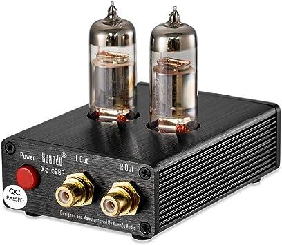 DollaTek Tubo de vacío Record Player MM Pre-Amplificador de ...