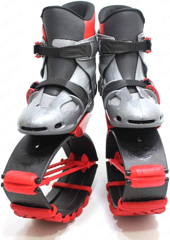 SEGIBUY Zapatos De Salto De Canguro Zapatos De Rebote Zapatos Espaciales Botas para Correr Antigravedad,S