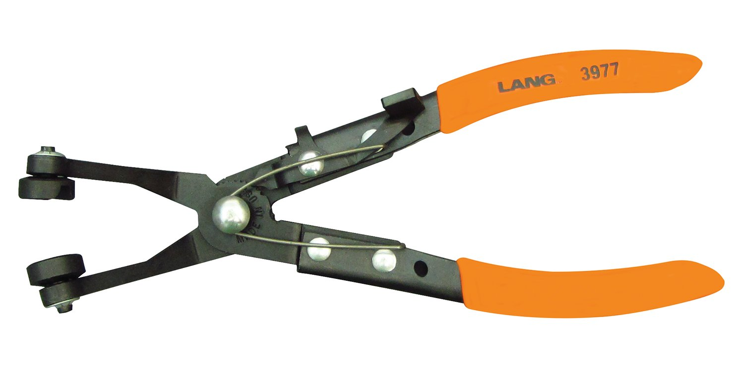 Lang Tools 3977 Angled Hose Clamp Pliers by Lang Tools