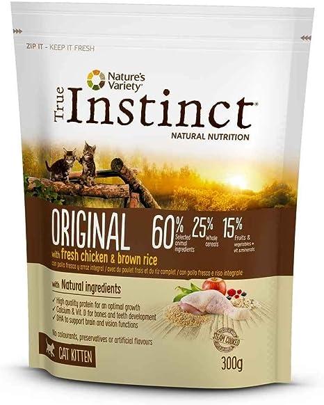 True Instinct - Pienso para Gatos Kitten Original Pollo y arroz ...