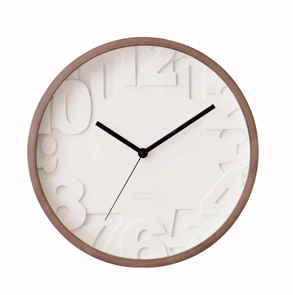 インターフォルム(INTERFORM INC.) 掛け時計 MATIZ-マティスCL-6861WA CL-6861WA B00650TXIEウォールナット