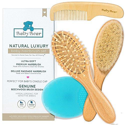 infant brush hair - 2