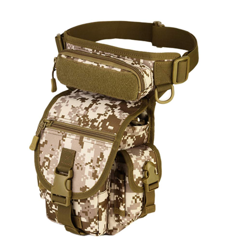 Tactical Leg Bag CZJJ High Outdoor Fishing Pockets Military Enthusiasts Equip