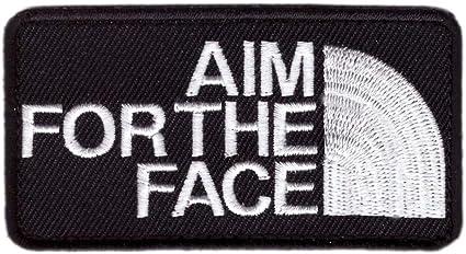 Titan One Europe Tactical Aim For The Face Patch Parche Decorativo Bordado T/áctico