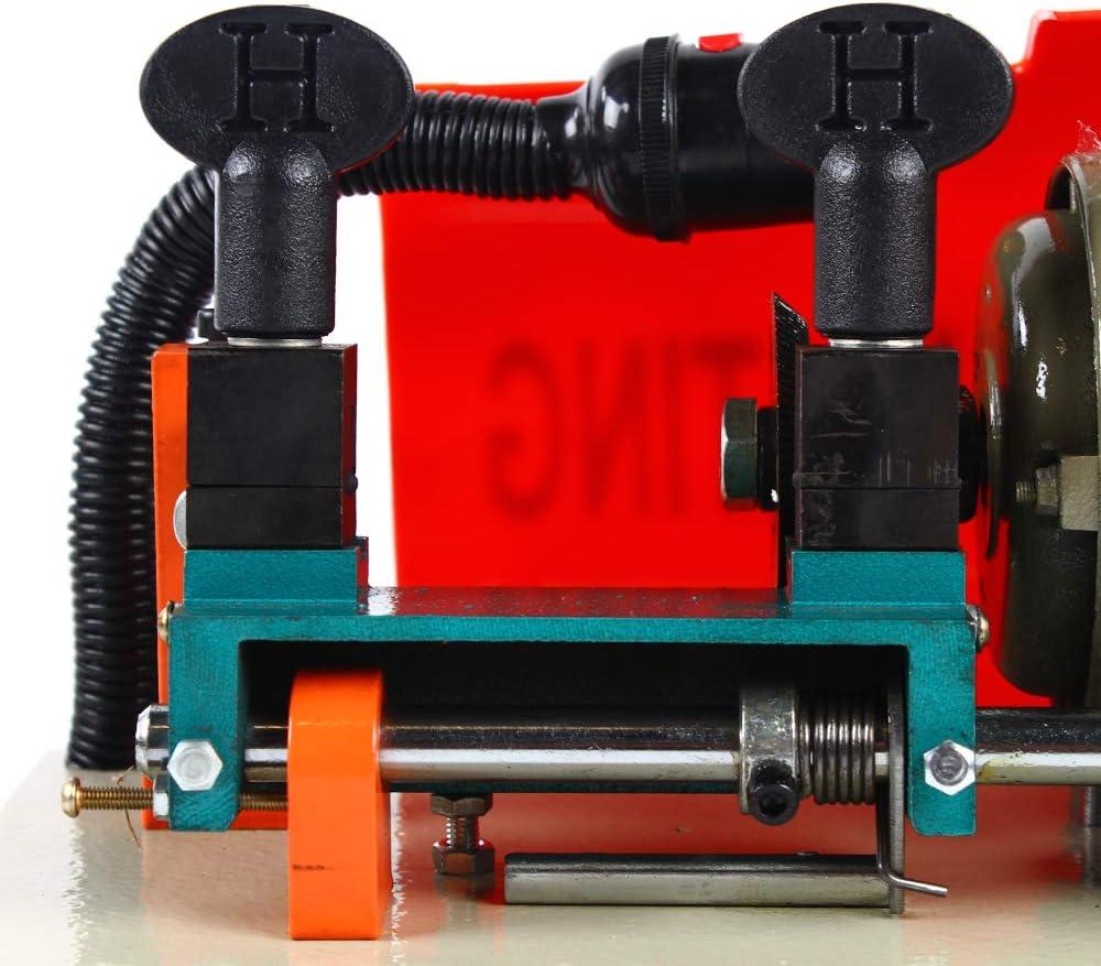 Copieur de Cl/é Machine Duplication de Cl/é Automatique 220V Machine /à Cl/é SAdapte /à la Plupart des Cl/és Civiles Utilis/ées Jeu de Duplicateur de Cl/é Horizontale.