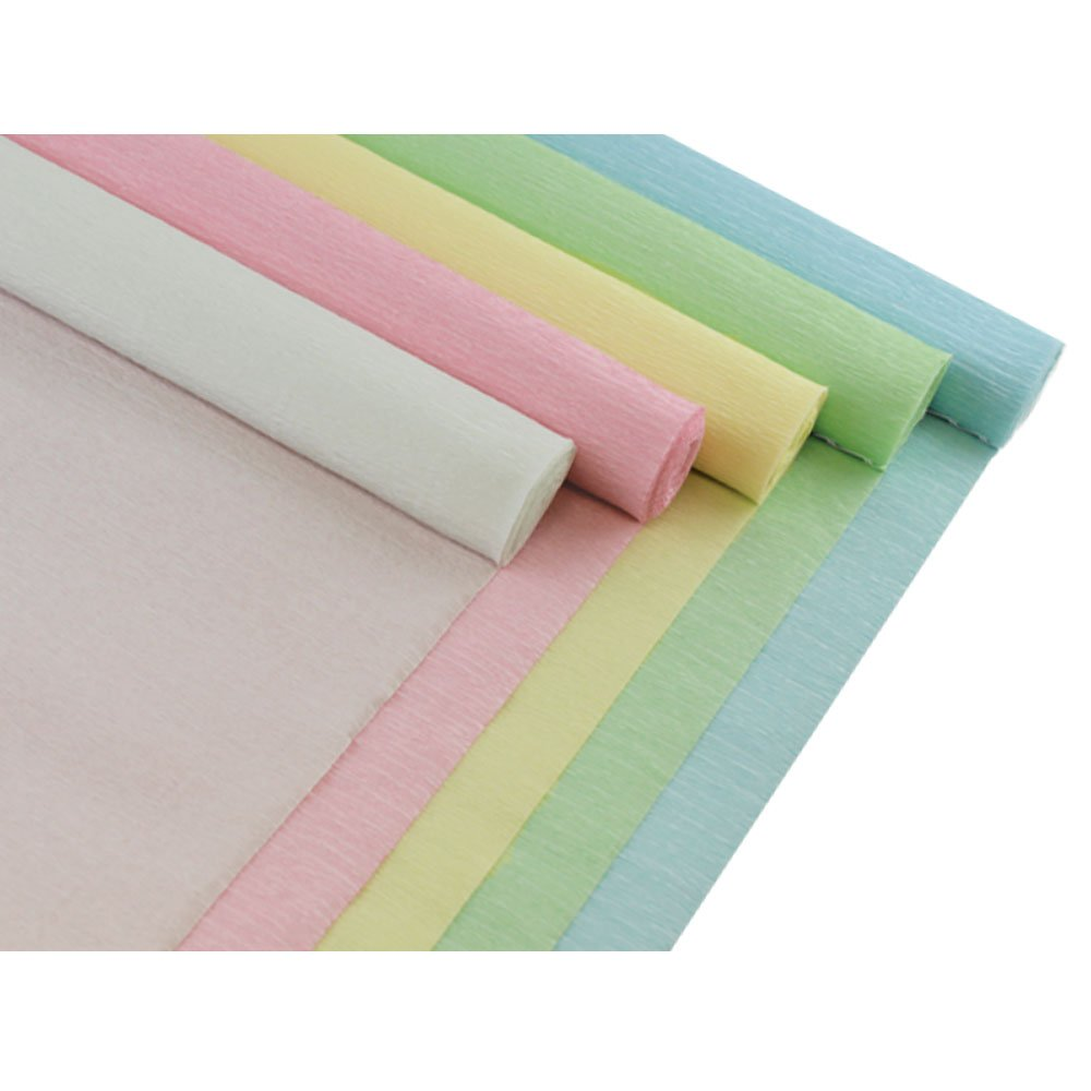 5pcs, Color: Gender Reveal 8ft Length//20in Width Just Artifacts Premium Crepe Paper Rolls