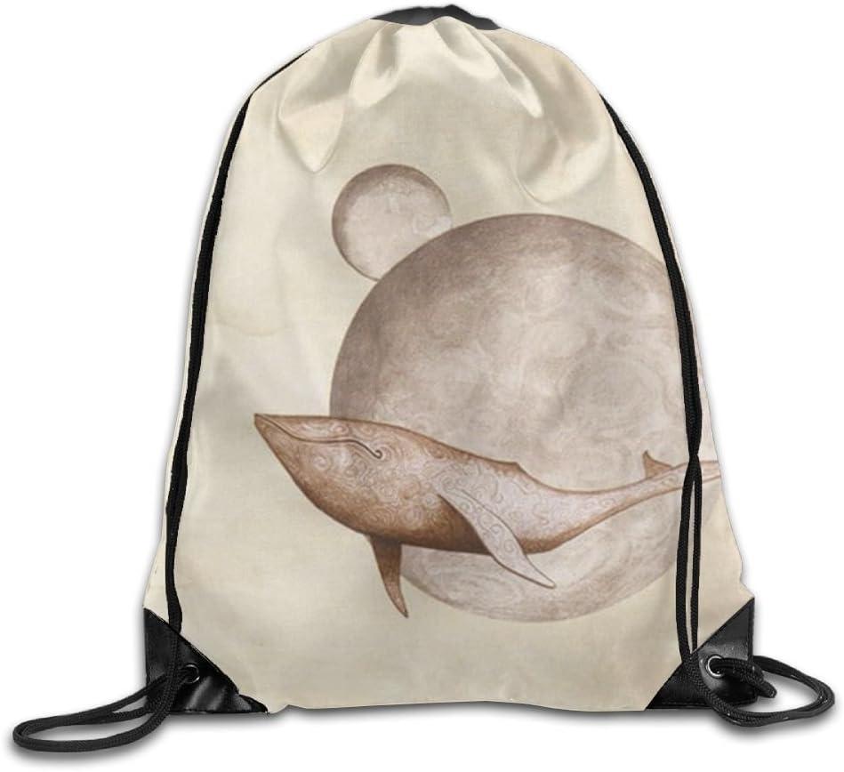 Dream Drawstring Backpack Rucksack Shoulder Bags Training Gym Sack For Man And Women