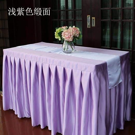 Falda de mesa Faldas de mesa de tutú, falda de mesa fría, mantel ...