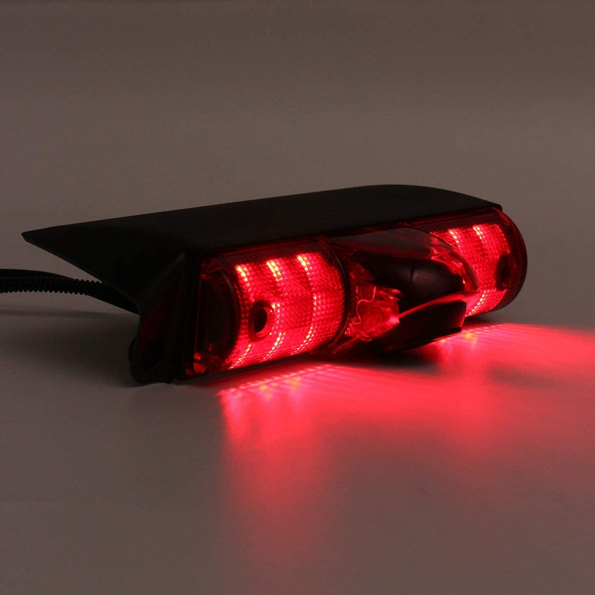 TUXIN-DIRECT Night Vision 3rd Brake Light Reversing Backup Camera 4.3 inch TFT Monitor Display for GMC Savana Chevrolet Explorer Chevy Express 1500 2500 3500 Van 2003-2018