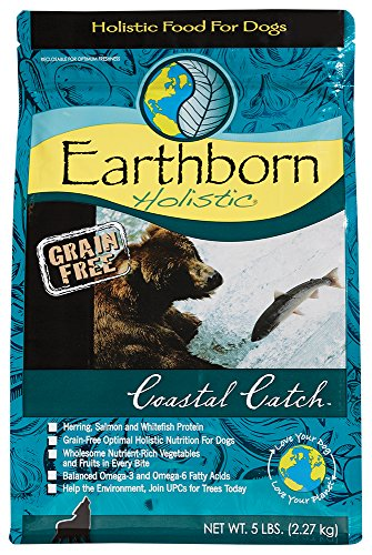 Earthborn Holistic Dry Dog Food - Coastal Catch, 5 lb.