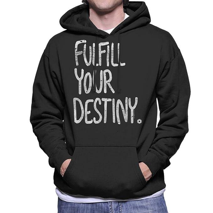 Star Wars Fulfill Your Destiny Mens Hooded Sweatshirt: Amazon.es: Ropa y accesorios