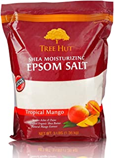 product image for Tree Hut Shea Moisturizing Epsom Salt Tropical Mango, 3Ibs, Ultra Hydrating Epsom for Nourishing Essential Body Care