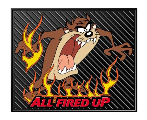 Plasticolor Taz All Fired Up Molded Utility Mat- 14""