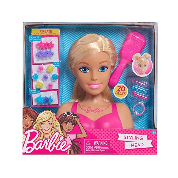 6117DIuh6KL. SS600  - Barbie Small Styling Head - Blonde