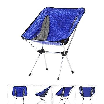 YAN Silla Plegable Camping al Aire Libre Cama Plegable ...