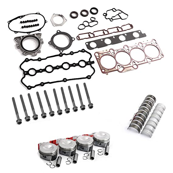 Amazon Com Bocid Engine Pistons Rings Gaskets Bolts Rebuild Kit For