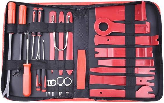 20 Stück Edelstahl Radio//Stereo Entfernung Werkzeug Set
