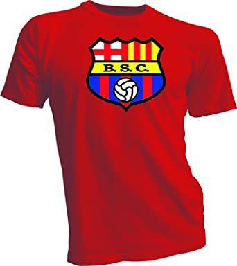 Amazon Com Barcelona Sporting Club Guayaquil Ecuador Futbol Soccer T Shirt Camiseta New Clothing