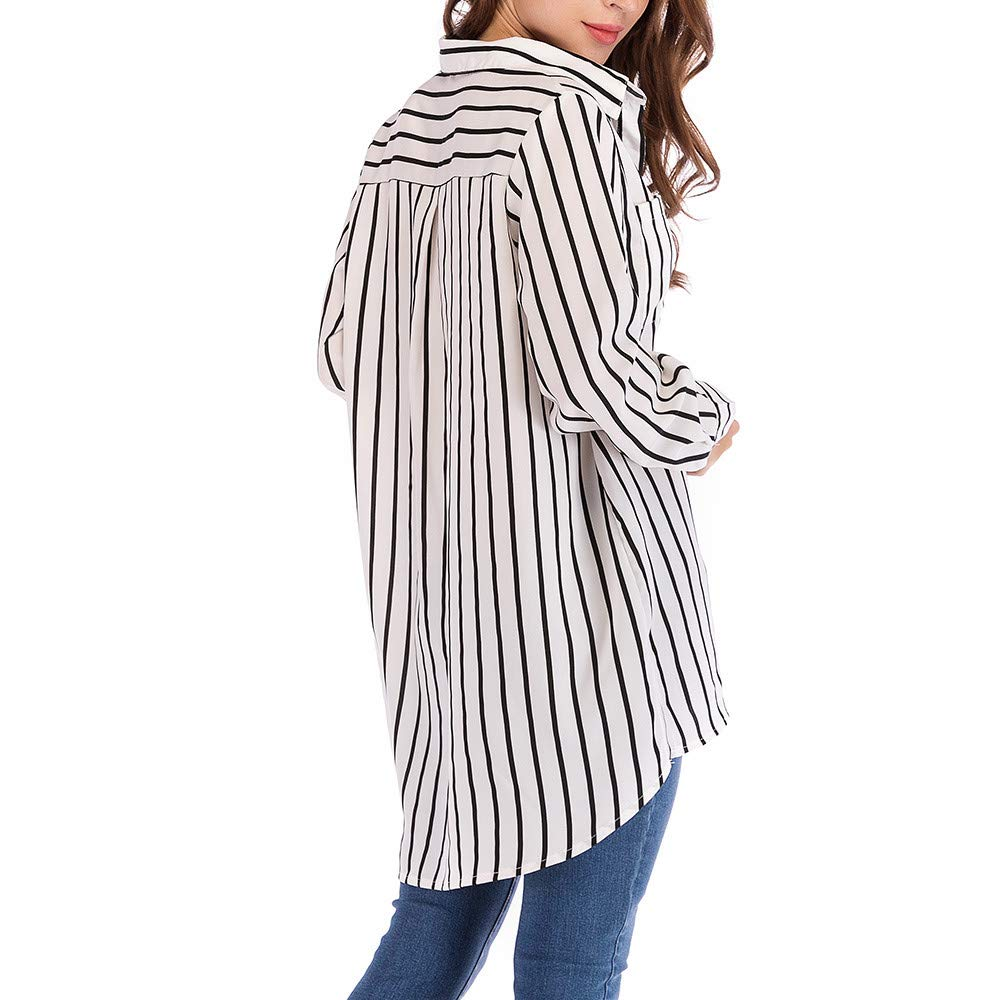 Amazon.com: Anjunie - Blusa de manga larga para mujer ...