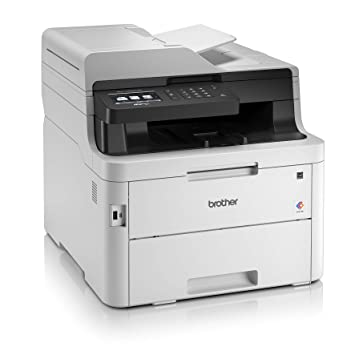 Brother MFC-L3750CDW Kompaktes 4-in-1 Farb-Multifunktionsgerät (24 Seiten/Min.) weiß