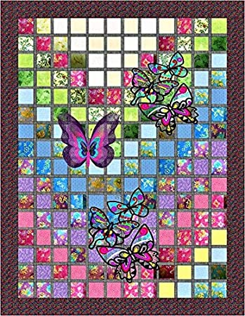 Quilt Kit Jacobean Floral//Pre Cut Ready to Sew//Finished Embroidery