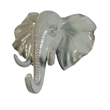 Cocode 3d creativo único de cabeza de elefante Perchero de ...